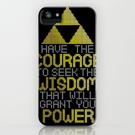 Triforce Motivational iPhone Case