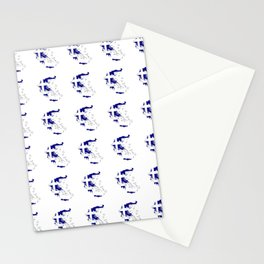 Flag of greece 2 -Greek, Ελλάδα,hellas,hellenic, athens,sparte,aristotle. Stationery Cards