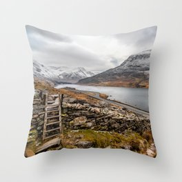 Ogwen Valley Throw Pillow