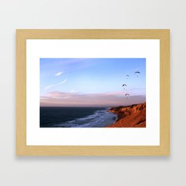 San Diego Twilight Framed Art Print