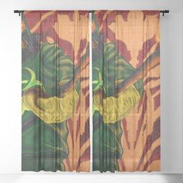 Blight Caster Sheer Curtain