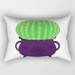 Spiky Cactus Rectangular Pillow