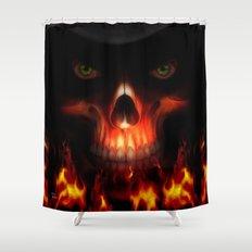 Yunke-Lo Shower Curtain