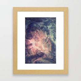 Can you hear the light Framed Art Print