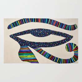 The Eye of Horus Rug
