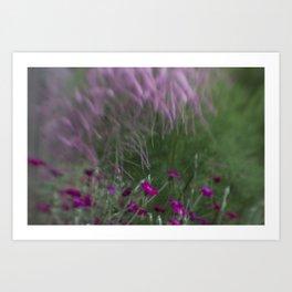 Beautiful Pink Flowers Art Print