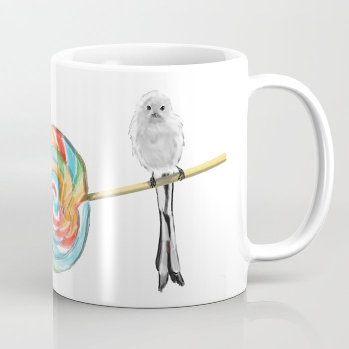 Flying Lollipop Coffee Mug