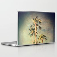 palms Laptop & iPad Skins featuring palms by Sylvia Cook Photography