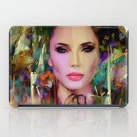 navajo iPad Cases featuring Princess Navajo by Ganech joe