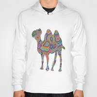 camel Hoodies featuring Camel  by Shanaabird