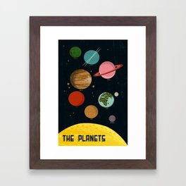 The Planets  Framed Art Print