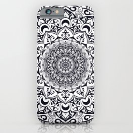 Mandala 001 iPhone Case