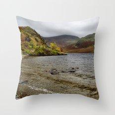 Crummock Water Throw Pillow