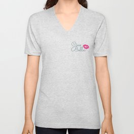 sweet and refined feminity Unisex V-Neck