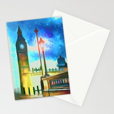 Moon Over London Stationery Cards