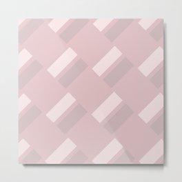 Neapolitan Pink Blush Metal Print