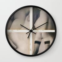 erotic Wall Clocks featuring Erotic seduction by Jean-François Dupuis