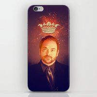 crowley iPhone & iPod Skins featuring Crowley - Supernatural by KanaHyde