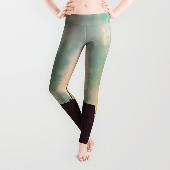 Sunset Off the wAter Leggings