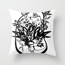 Nátura II Throw Pillow