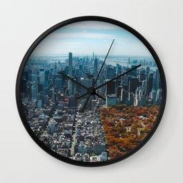 New York City Central Park Wall Clock