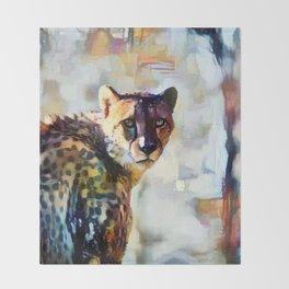 Your Cheetah Eyes Throw Blanket
