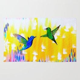 Hummingbird Sunrise Rug