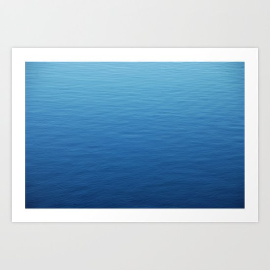 Where did all the waves go? Art Print