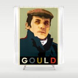 Glenn Gould Shower Curtain