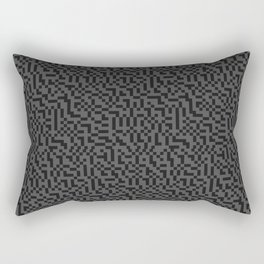 Digital Dither 01 Rectangular Pillow