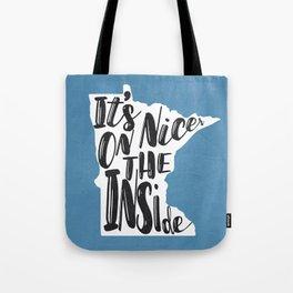 Minnesota Nice Tote Bag