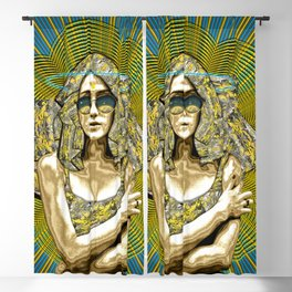 Golden Madness Blackout Curtain