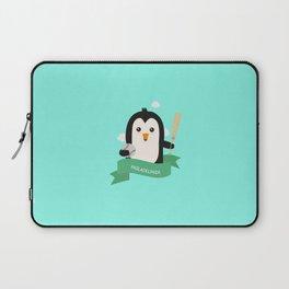 Baseball Penguin from PHILADELPHIA T-Shirt Laptop Sleeve