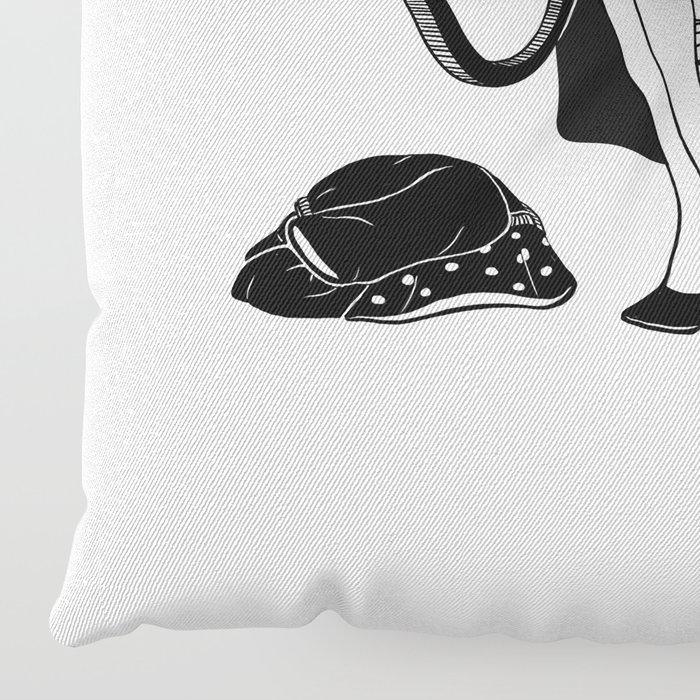 Washing Bad Memories Floor Pillow