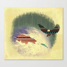 Pattern Survival Canvas Print
