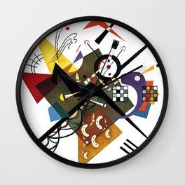 Kandinsky Sur Blanc, 1923 Wall Clock