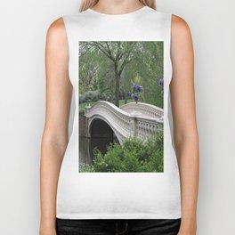 Bow Bridge Central Park New York Biker Tank