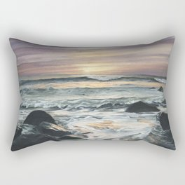 Sunrise Over Montauk Rectangular Pillow