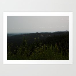 Peak of Nature Art Print