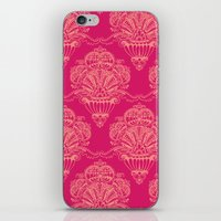 damask iPhone & iPod Skins featuring Damask by cactus studio