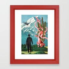 Fellowship of the Opposites Framed Art Print