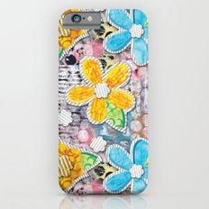 Paper Flower Power Slim Case iPhone 6s