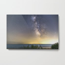 Milkyway Landscape Metal Print