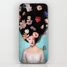 The Botanist's Daughter iPhone Skin