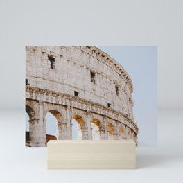 Colosseum / Rome, Italy Mini Art Print