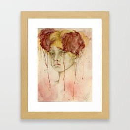 Dusk and dawn Framed Art Print