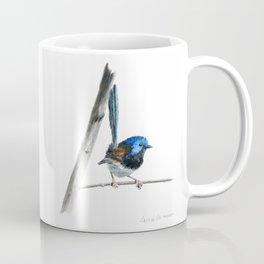 Fairy Wren by Teresa Thompson Coffee Mug
