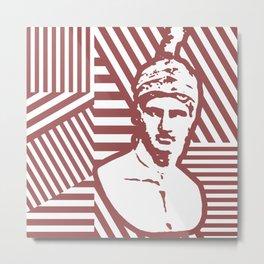 Gods Geometric - Ares Metal Print