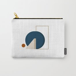 Abstrato 03 // Abstract Geometry Minimalist Illustration Carry-All Pouch