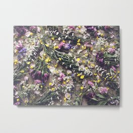 Meadow Flowers Metal Print
